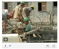 MRV Engenharia no Jornal Nacional - fev 09 - Construção civil mantem setor aquecido