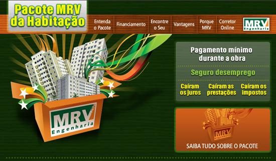 Pacote MRV de Habitação - Minha casa Minha vida