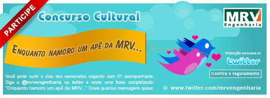 Promocao MRV Dia dos Namorados - Twitter