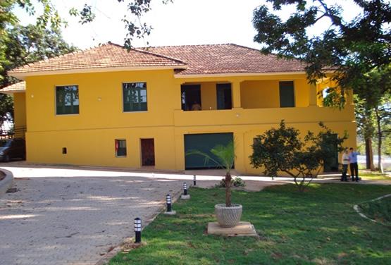 Casarão do bairro Castelo, restaurado pela MRV e doado à Prefeitura de Belo Horizonte