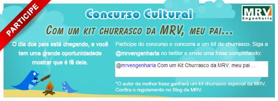 Concurso Dia dos Pais MRV no Twitter