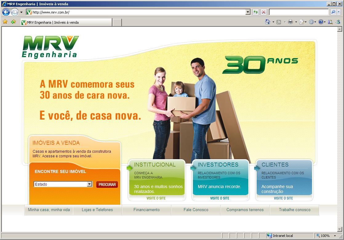 MRV de cara nova