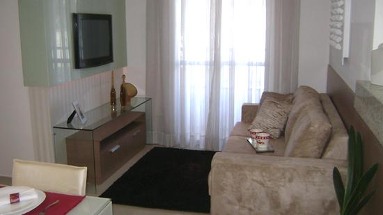 Decoração de sala para 2 ambientes