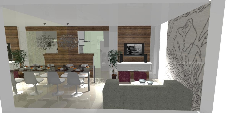 Cliente destaca funcionalidade e divisão de ambientes em projeto