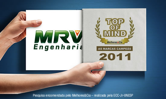 E o Top of Mind 2011 vai para...