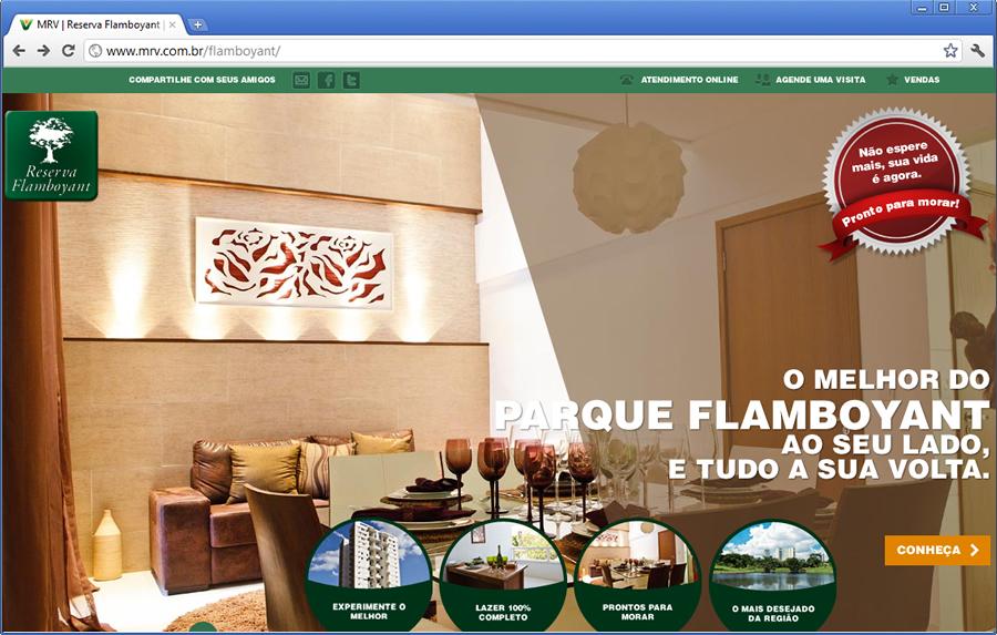 Reserva Flamboyant: Apartamentos prontos em Goiânia