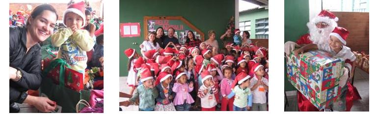 Colaboradores da MRV apadrinham crianças de quatro creches neste Natal