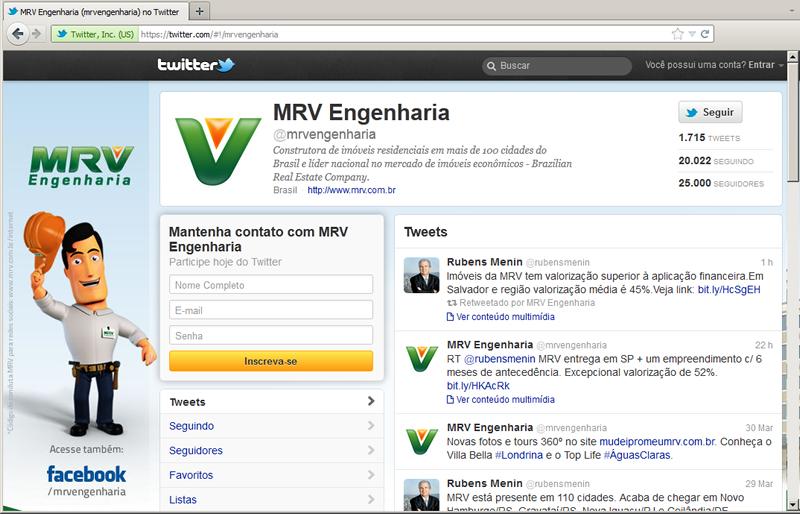 25 mil seguidores no Twitter!