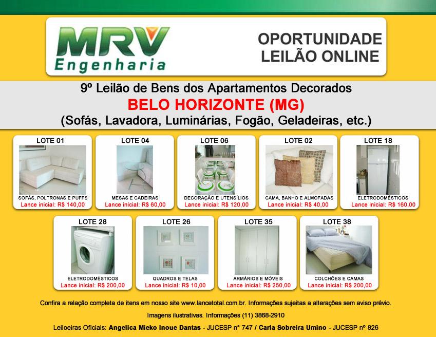 Leilão MRV em Belo Horizonte – MG