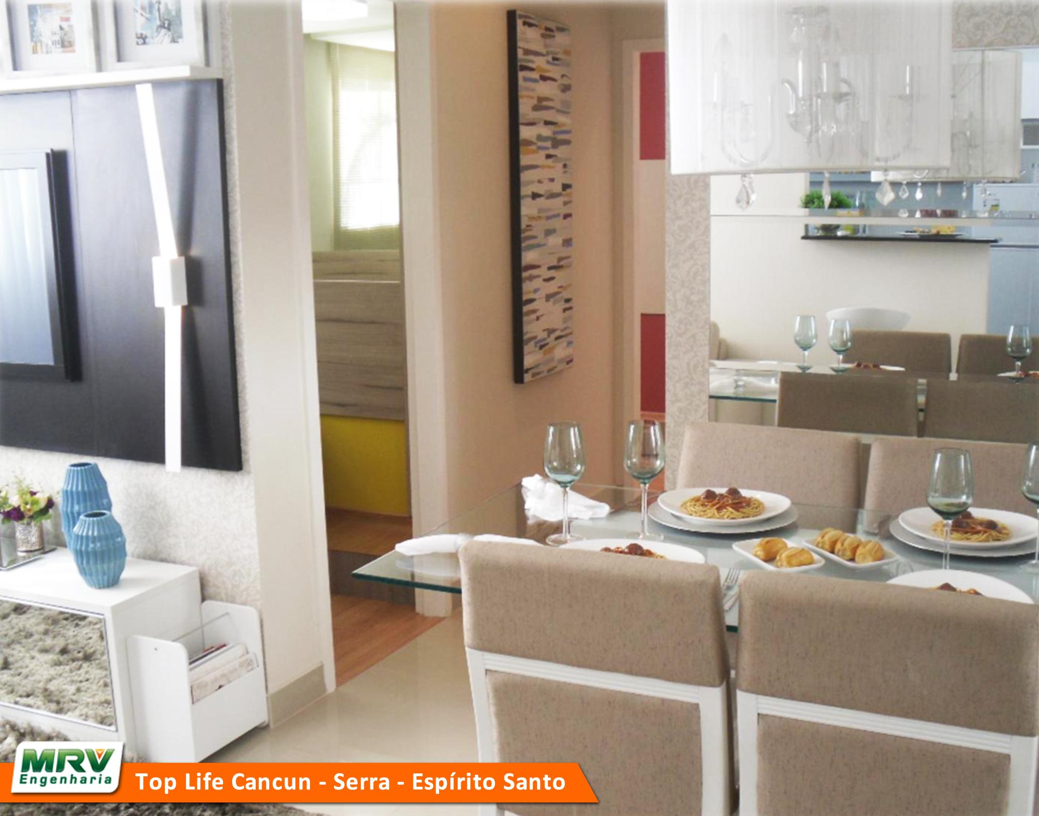 Sala de estar e jantar integradas são convite ao social