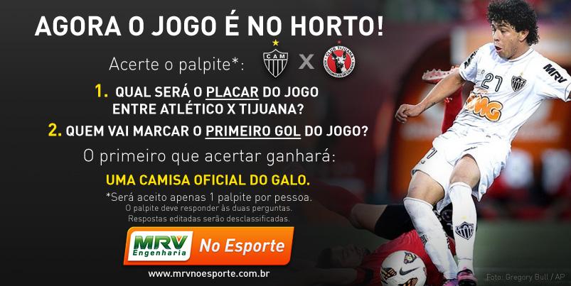 #MRVnoEsporte informa: Bolão Galo na Libertadores