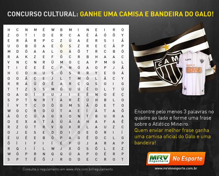 #MRVnoEsporte informa: Concurso Cultural Galo na Libertadores