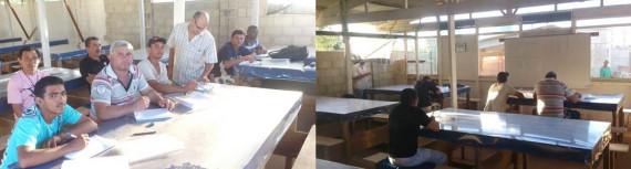 MRV Engenharia promove alfabetização para trabalhadores em canteiro de obra de Parnamirim/RN
