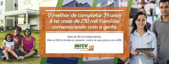 MRV Engenharia 34 anos