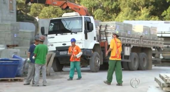 MRV exemplo de segurança do trabalho - Rede Globo do Paraná