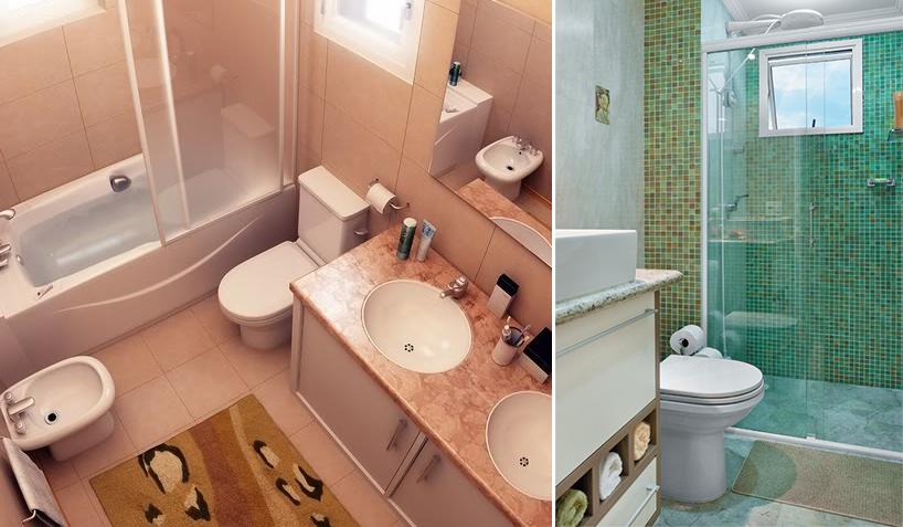 Organize e decore o banheiro gastando pouco  Blog Corporativo MRV Engenharia -> Banheiro Pequeno Mrv