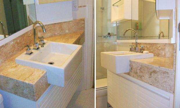 Banheiros decorados pequenos  MRV Engenharia -> Banheiro Planejado Mrv