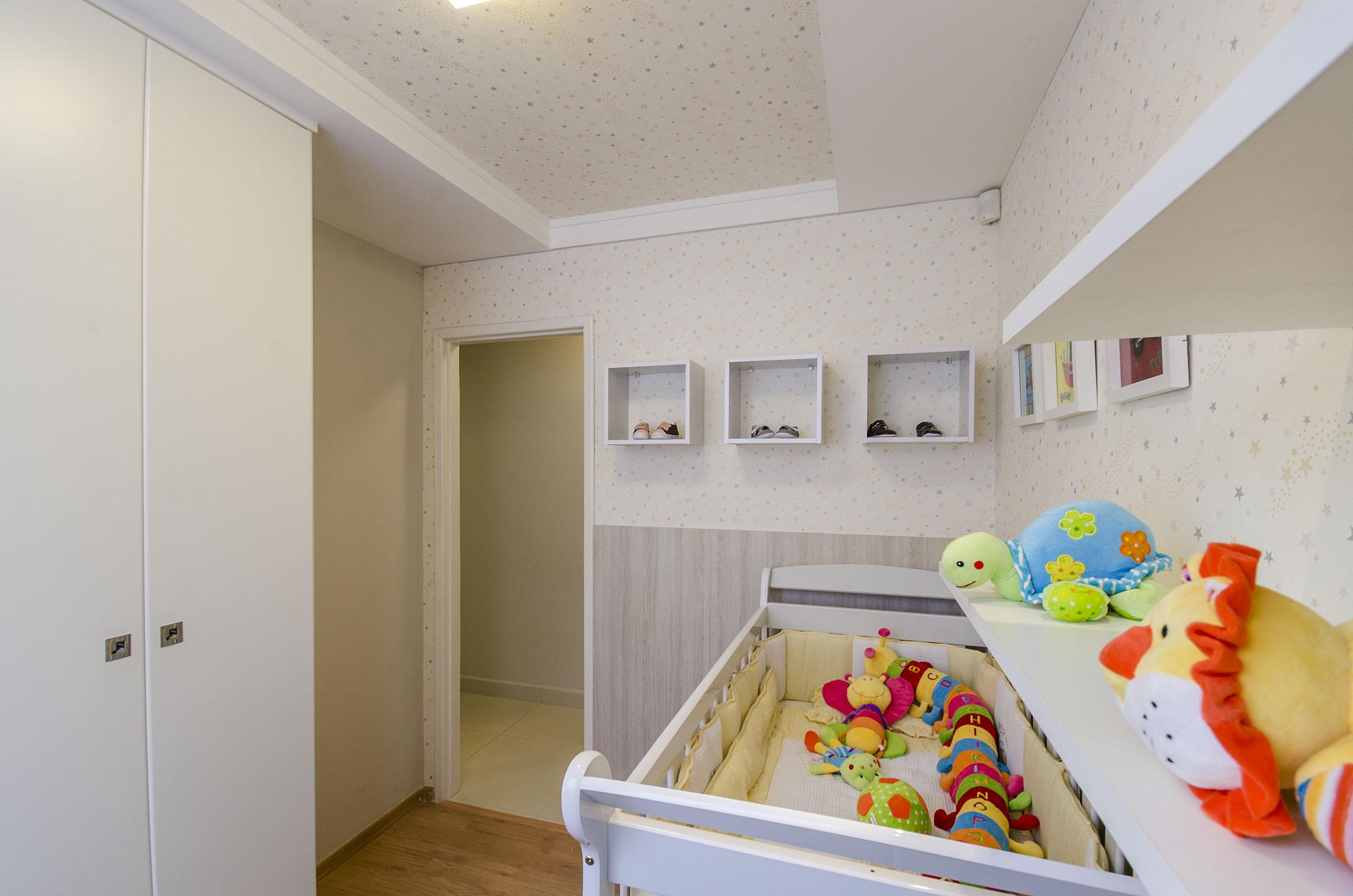 Guarda Roupa Planejado Para Quarto Pequeno De Bebe Redival Com ~ Quarto Casal Pequeno Com Quarto De Nenem Menina