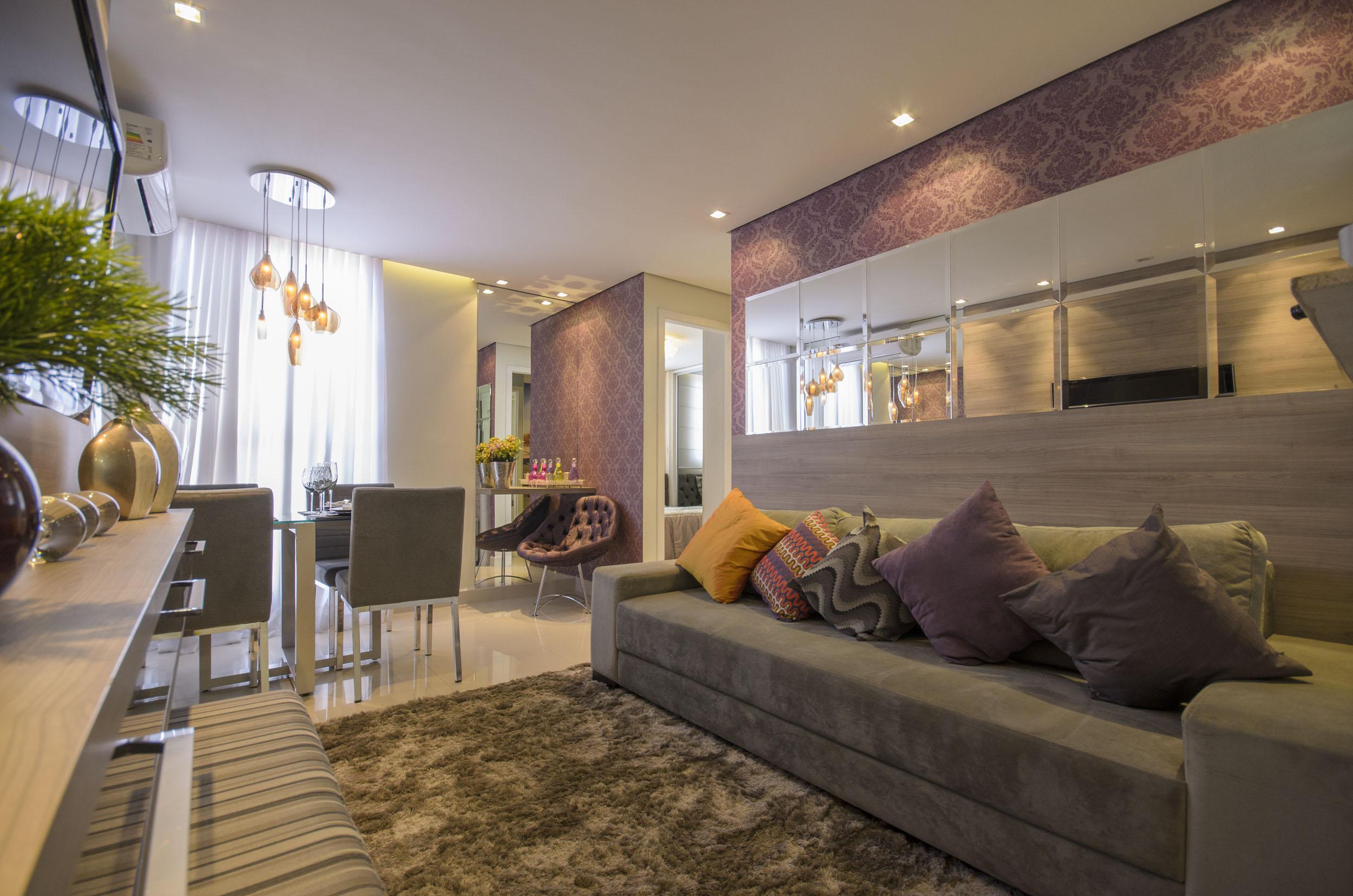 Cozinha Decorada Apartamento Pequeno Oppenau Info -> Apartamento Mrv Decorado Fotos