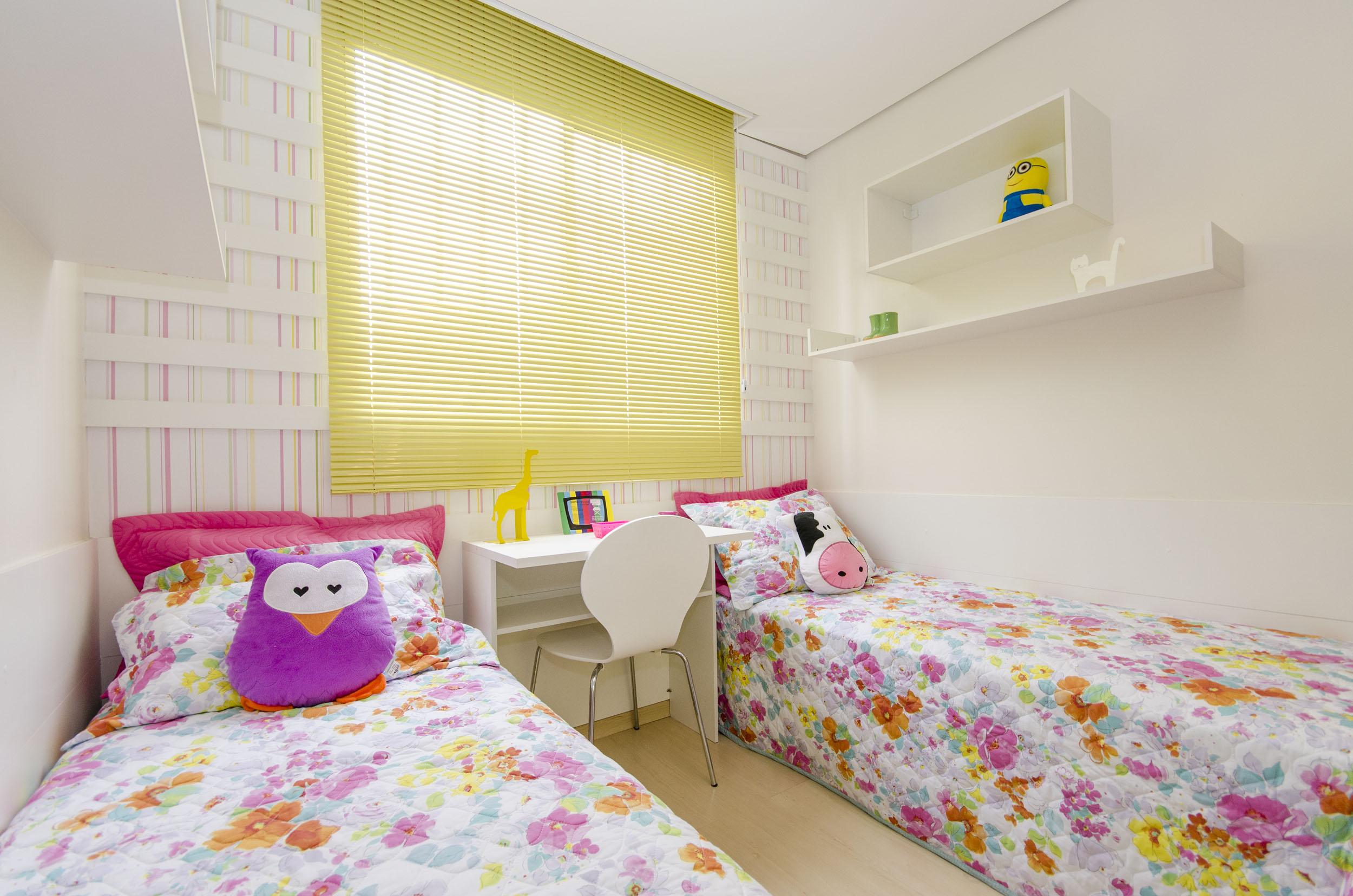 Quartos planejados para meninas – fotos e ideias Blog  ~ Quarto Planejado Apartamento Mrv