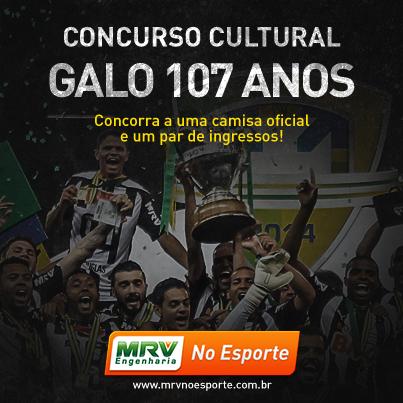 Concurso Cultural Galo 107 Anos