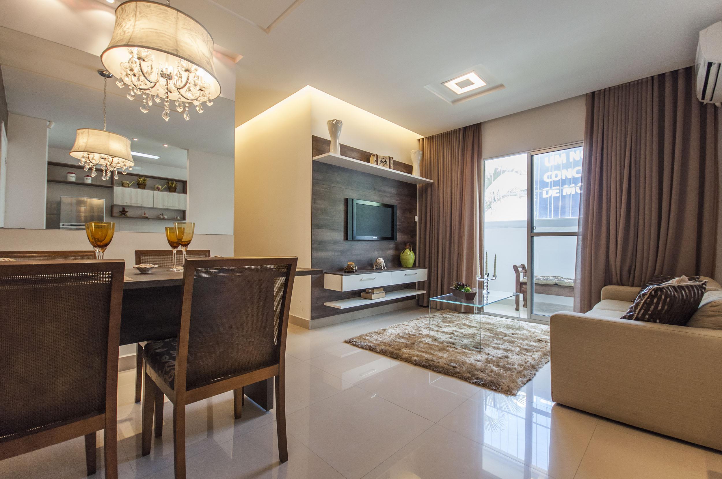 #876C44  Mercado Imobiliário e lançamentos de apartamentos e casas 2500x1660 píxeis em Como Decorar Sala De Jantar Em Apartamento Pequeno
