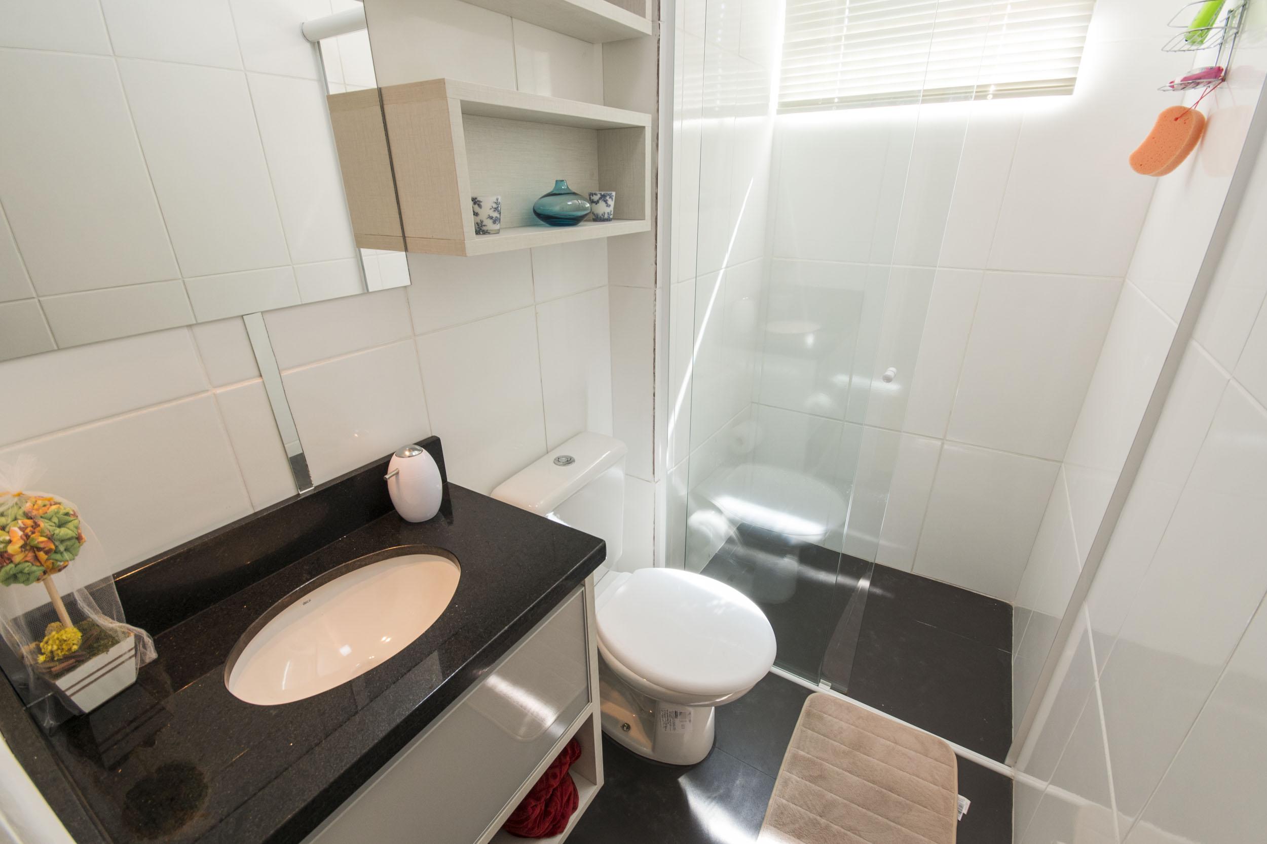 Segredos na decoração de banheiros pequenos  Blog Corporativo MRV Engenharia -> Decoracao De Banheiro Para Apartamento