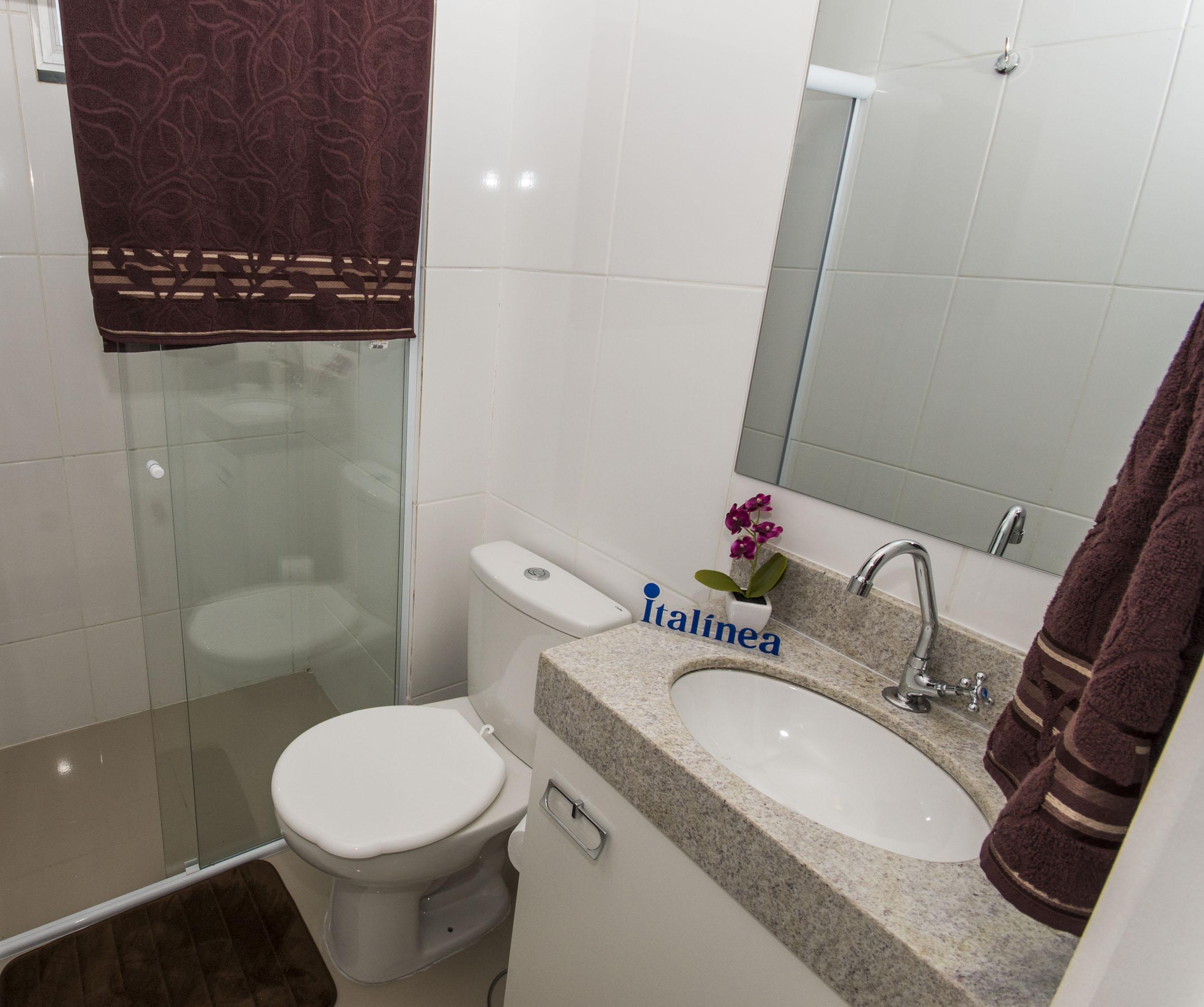 Segredos na decoração de banheiros pequenos  Blog Corporativo MRV Engenharia -> Banheiro Pequeno Com Pastilhas Claras