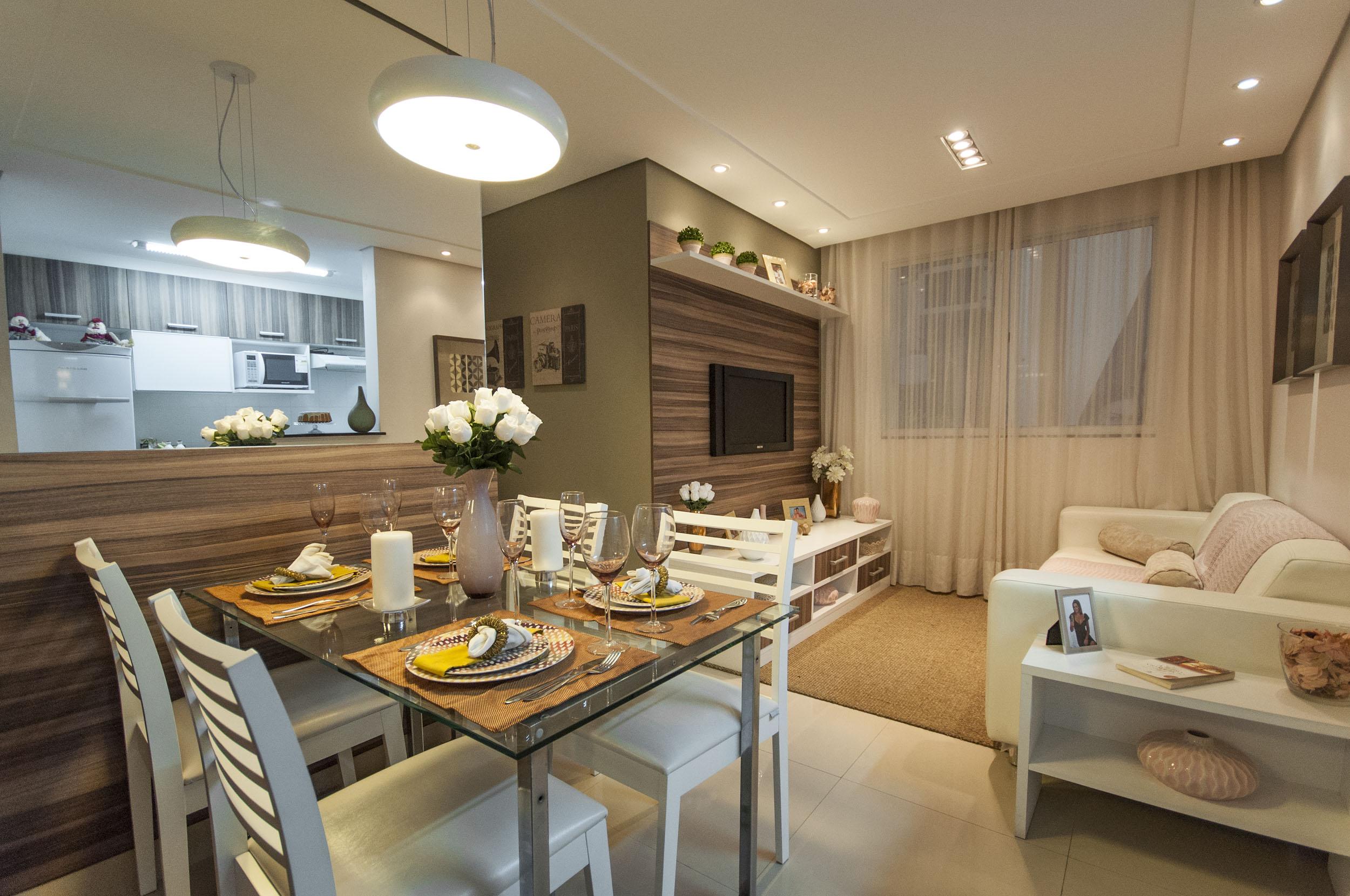 #936C38 Integrando Sala de Jantar e Cozinha Blog Corporativo MRV Engenharia  2500x1660 píxeis em Decoração De Sala De Estar Junto Com Sala De Jantar