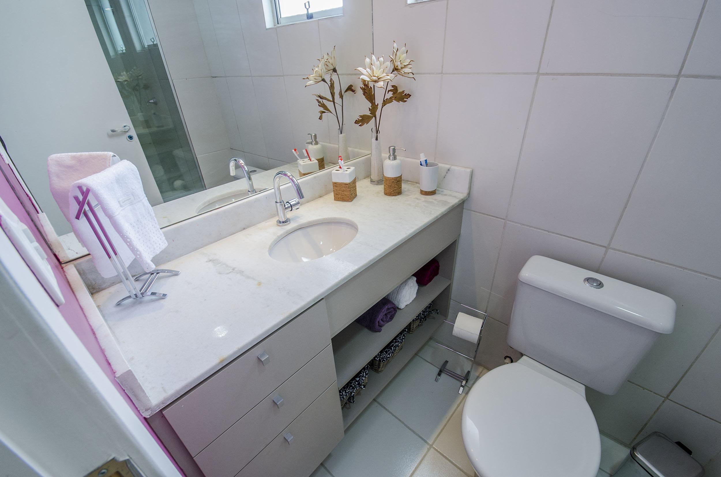 Ideias de arrumação para banheiro pequeno  Blog Corporativo MRV Engenharia  -> Banheiro Pequeno Mrv