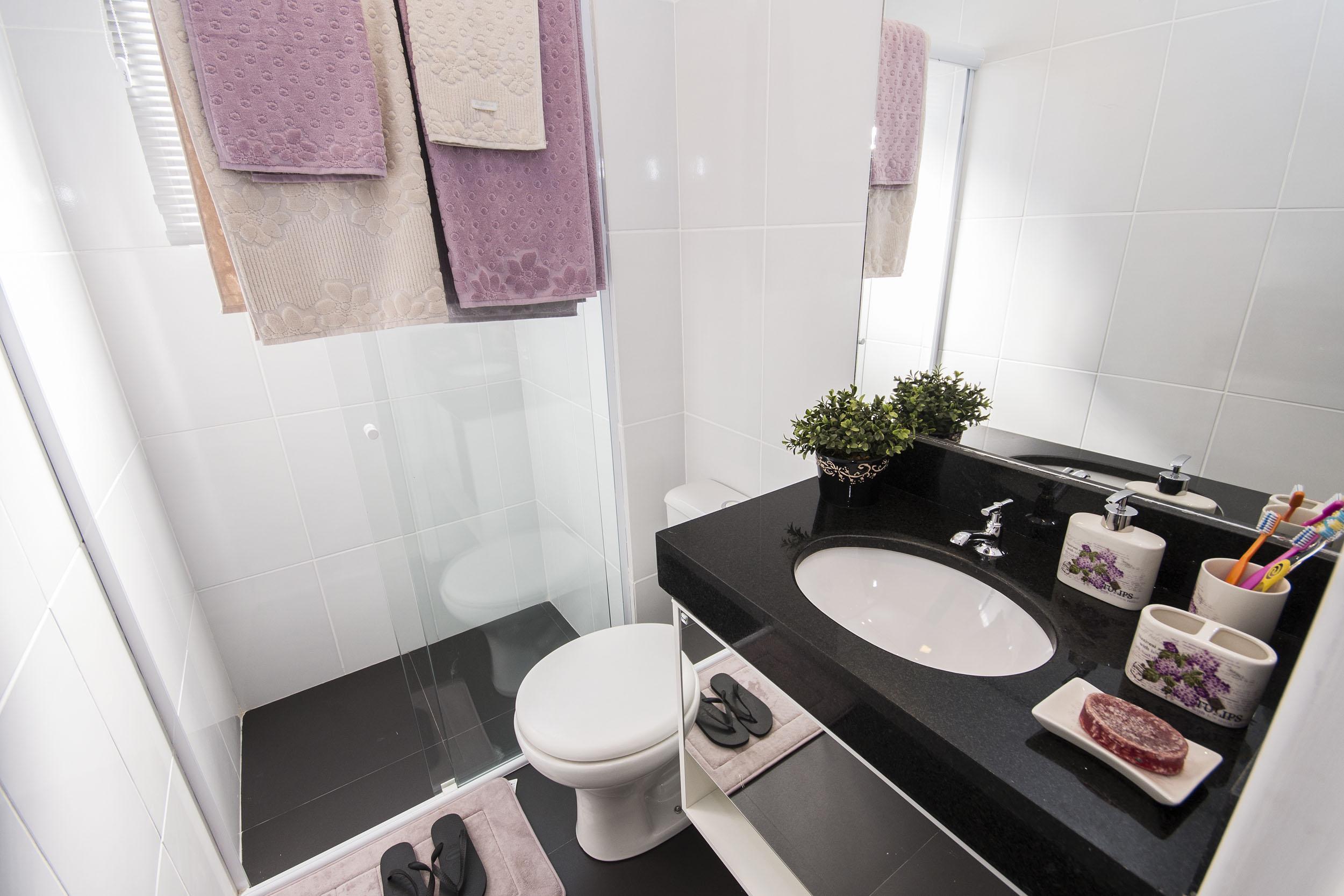 Decoraç u00e3o de banheiro compacto Blog MRV Engenharia