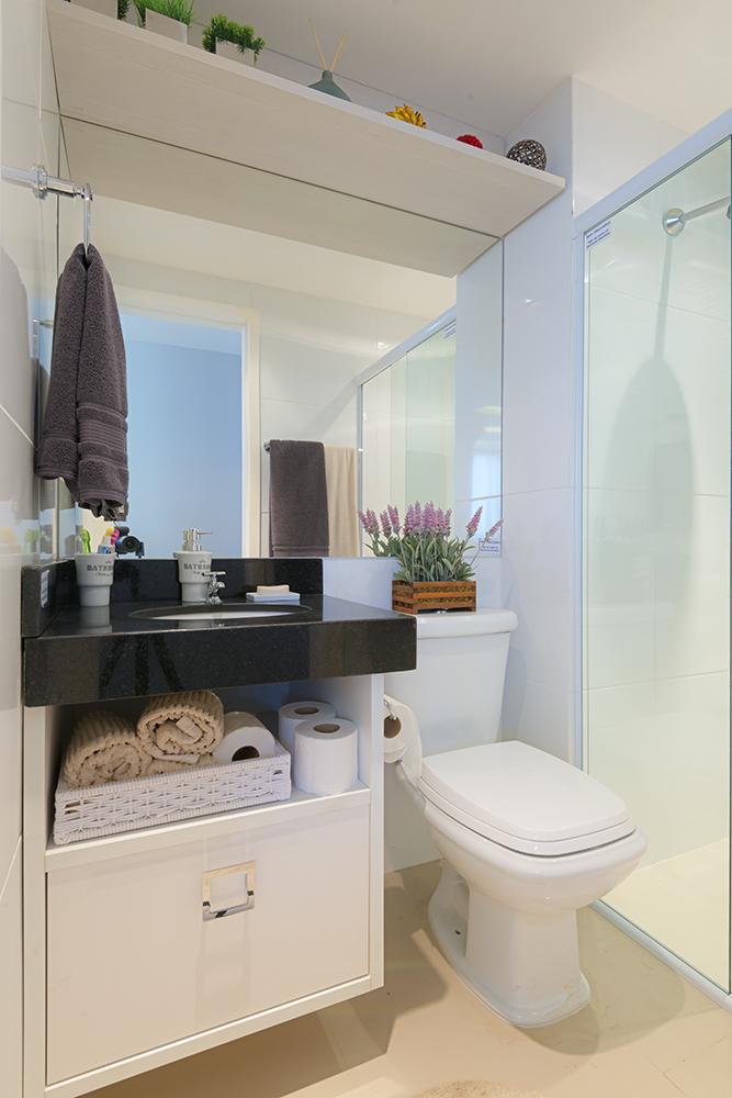 Ideias para decoração de banheiros pequenos  Blog Corporativo MRV Engenharia -> Banheiro Planejado Mrv