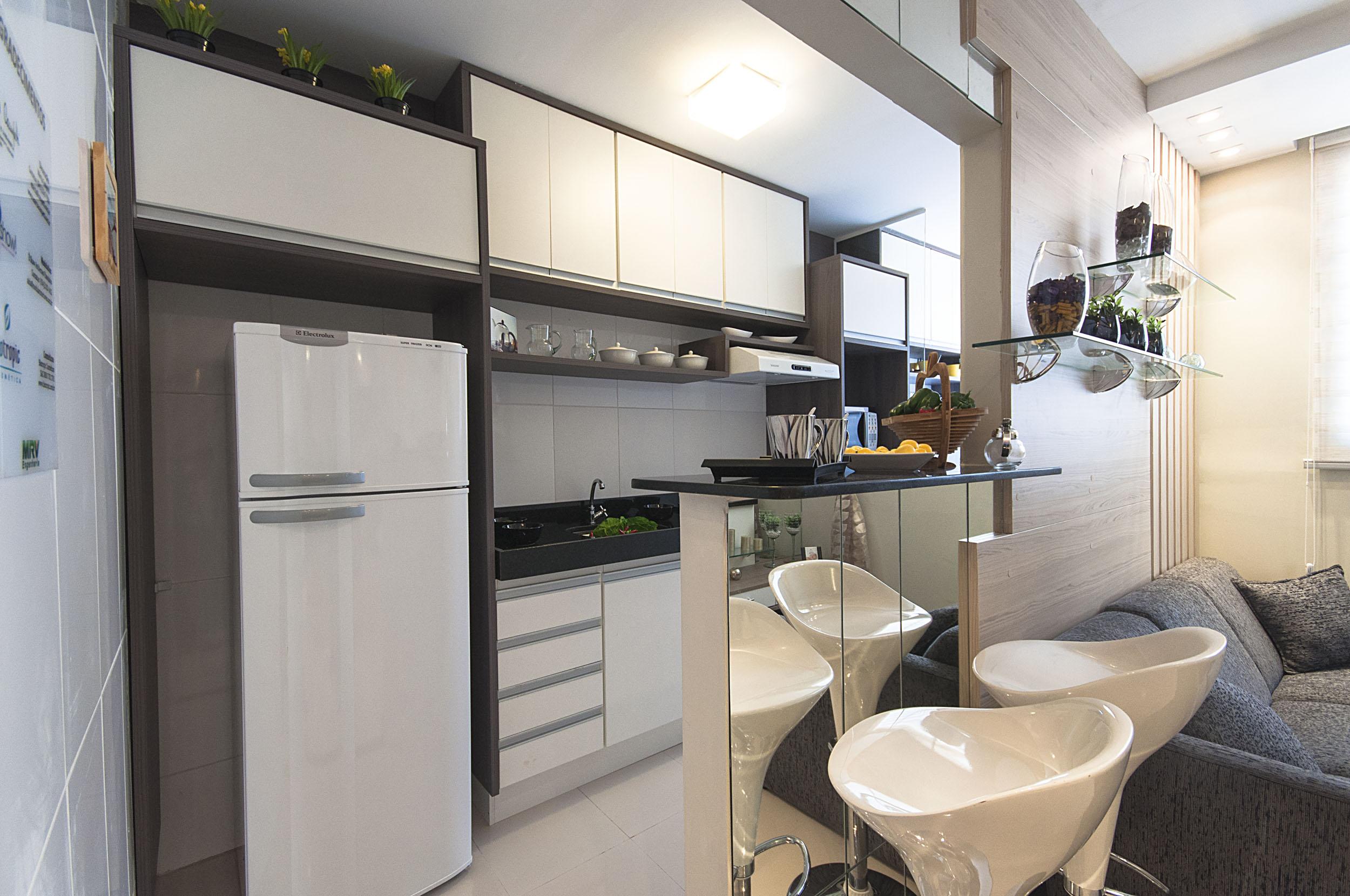 Como Decorar Sala Com Cozinha Americana Pequena Koynfm Com