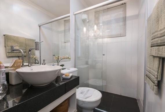 Ideias para decoração de banheiros pequenos