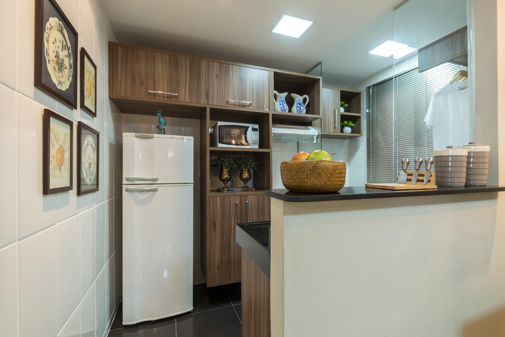#604C37 Como Decorar Cozinha Americana Pequena com Bancada MRV Engenharia 1618x1079 píxeis em Como Decorar Sala De Jantar Pequena