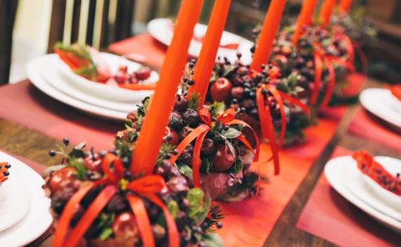 Decorando sua mesa da ceia de Natal