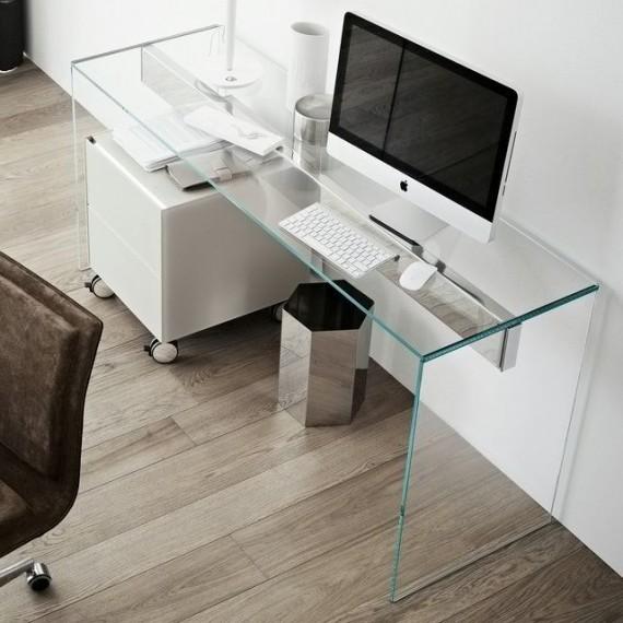 Escrivaninha de vidro (Fonte: Viminas)