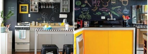 Aprenda a fazer uma parede de lousa/quadro-negro na sua casa!