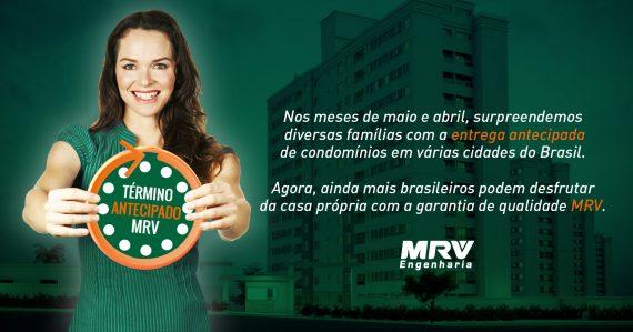 MRV faz a entrega antecipada de 5 condomínios
