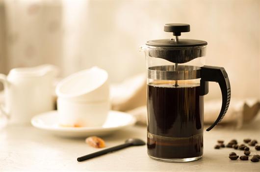 O seu cantinho do café organizado