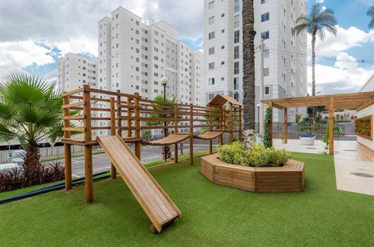 Área de lazer completa é um dos benefícios de viver em um condomínio de apartamentos da MRV