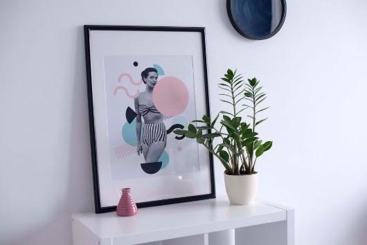 Do retrô ao moderno: 7 ideias para usar quadros na decoração