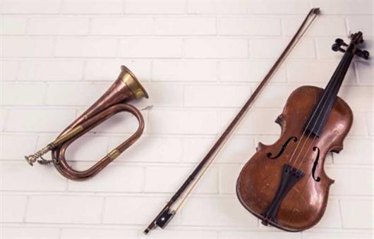 Trompete e violino, a forma correta de guardar seus instrumentos musicais em casa