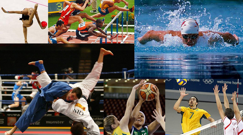 Resultado de imagem para todos os esportes